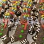 聖誕彩繪餅乾-巧克力雪人