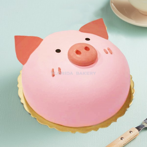 香草鮮奶油蛋糕-小豬A*限來店自取*