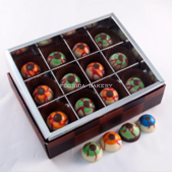 眼球巧克力禮盒
