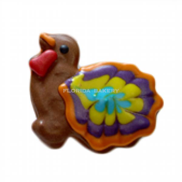 彩繪餅乾-火雞