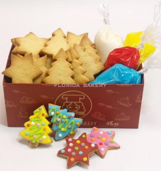 DIY彩繪餅乾(聖誕2號包)