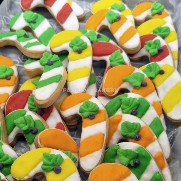 聖誕彩繪餅乾-拐杖