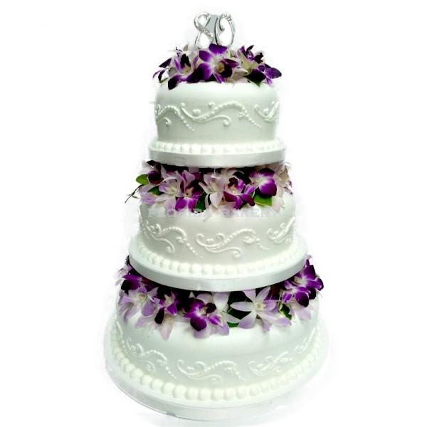 歐風三層蛋糕