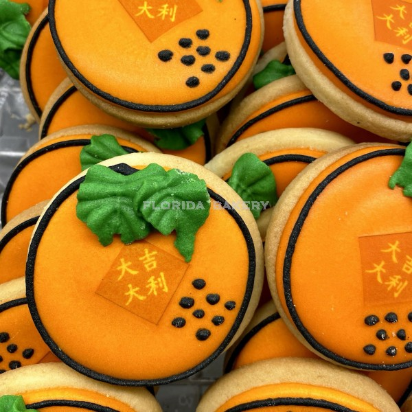 新年彩繪餅乾-橘子
