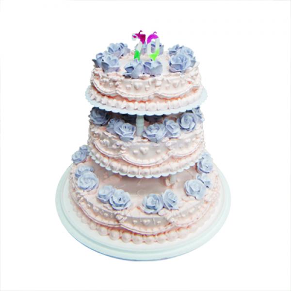 三層藝術蛋糕-客訂款