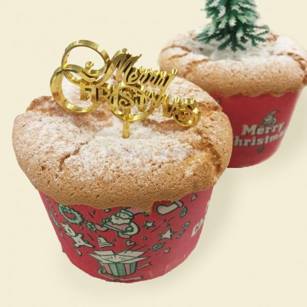 聖誕杯型蛋糕
