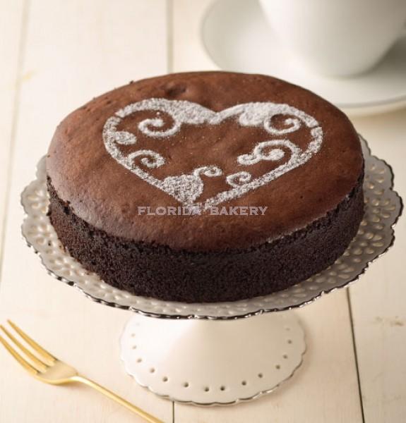 73% 生巧克力蛋糕