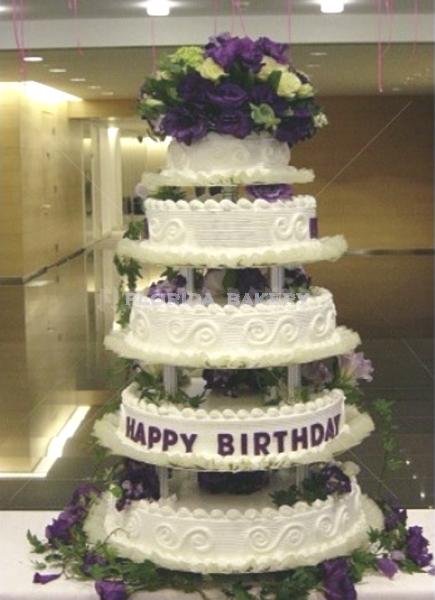 五層藝術蛋糕