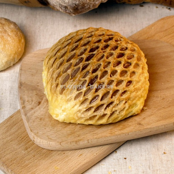 蜂巢藍苺麵包