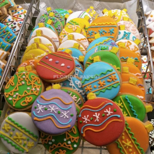 聖誕彩繪餅乾-裝飾球