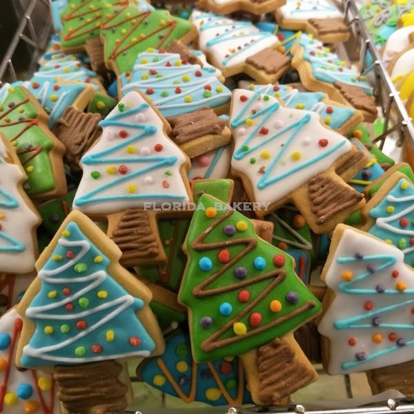 聖誕彩繪餅乾-聖誕樹
