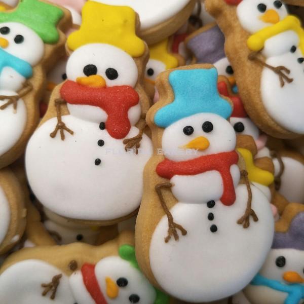 聖誕彩繪餅乾-雪人