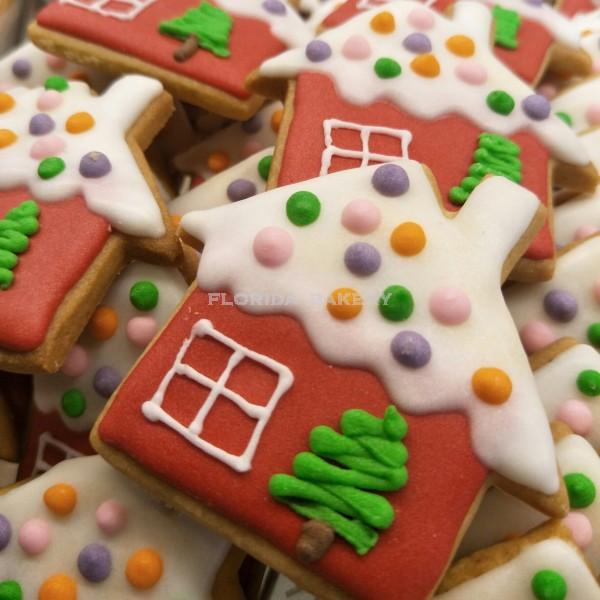 聖誕彩繪餅乾-房子