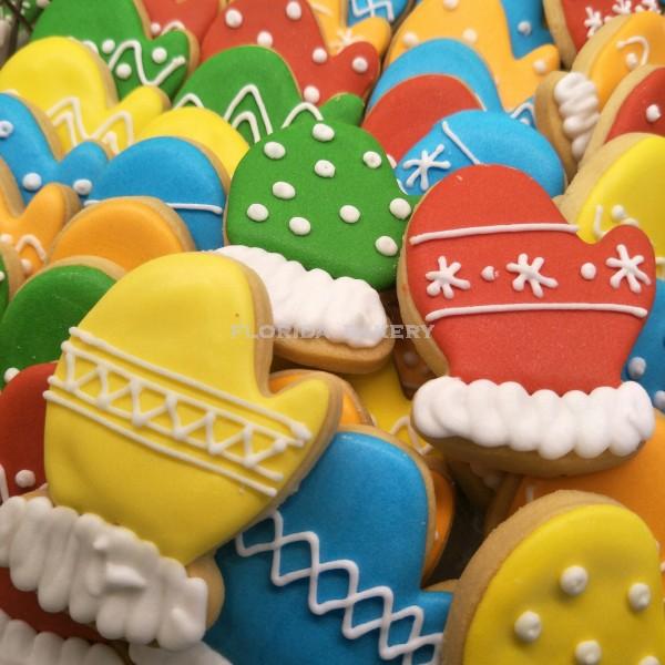 聖誕彩繪餅乾-手套