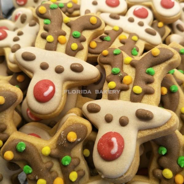 聖誕彩繪餅乾-麋鹿