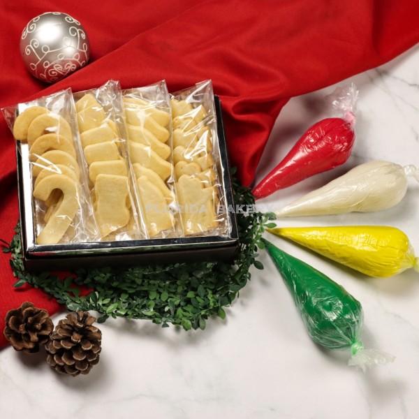 DIY彩繪餅乾(聖誕1號包)