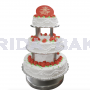 3 Tier Edible Photo Cake