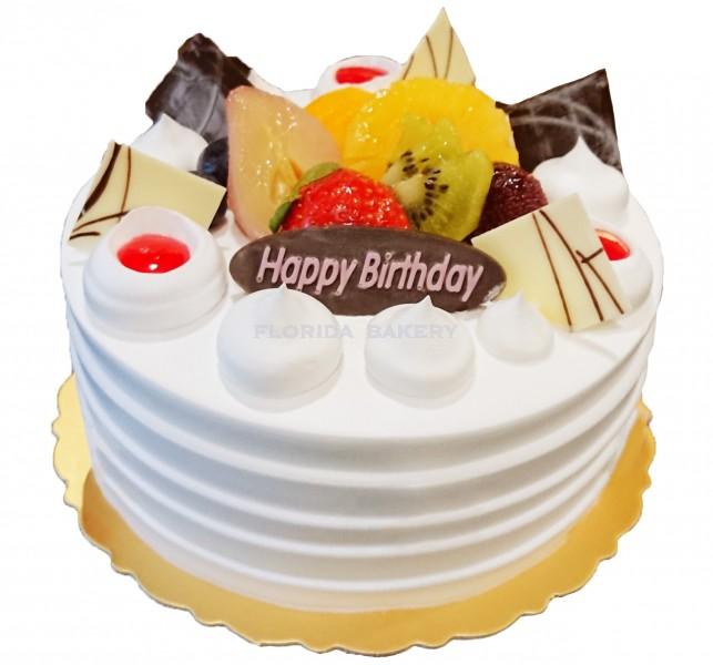"""6"""" Taro Cream Cake-C *Store Pickup Only*"""