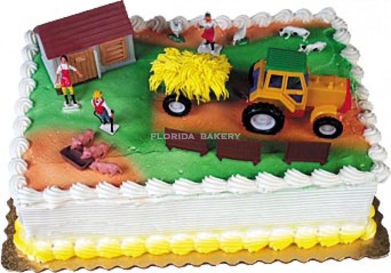 E-I-E-I-OH Birthday Cake Kit