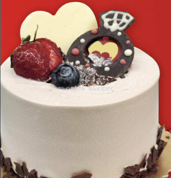 """4"""" BLACK FOREST CAKE*STORE PICKUP ONLY*"""