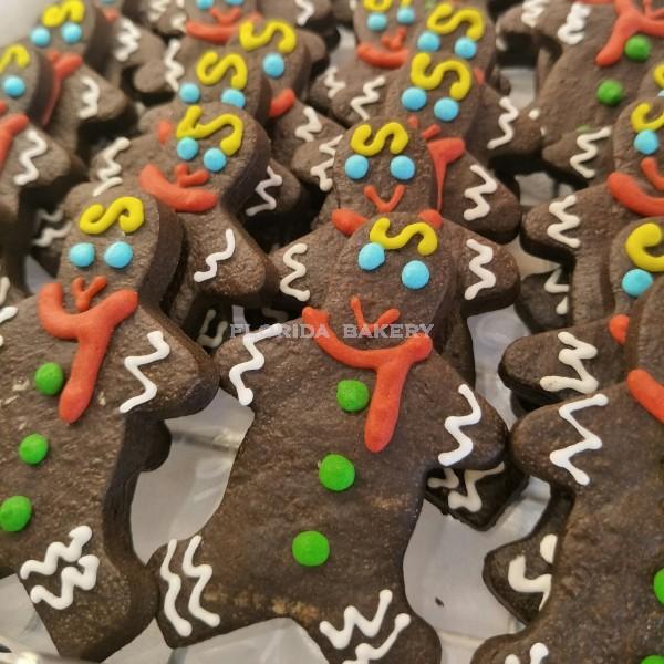 Christmas Artisan Cookies -chocolate snowman