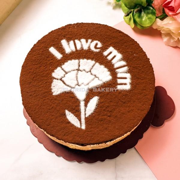 """6"""" Mother's Day Tiramisu Cake *Store Pickup Only*"""