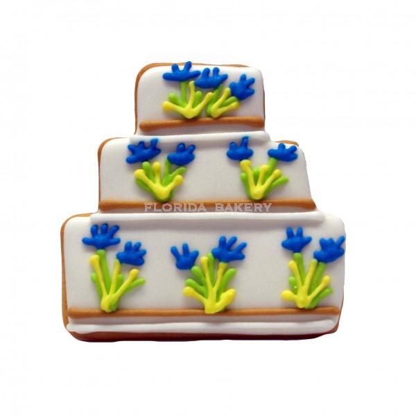 彩繪餅乾-結婚蛋糕